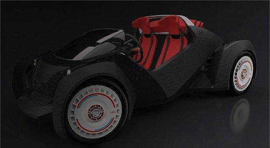 Você está pronto para comprar um carro de plástico feito em uma impressora 3D?[Imagem: Local Motors]