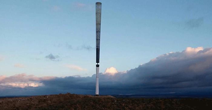 Turbinas sem hélices prometem revolucionar geração de energia eólica