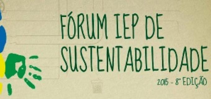 Fórum IEP de Sustentabilidade 2015