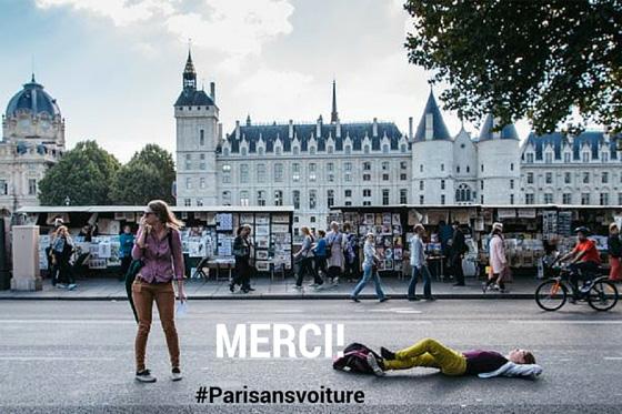 Dia sem Carro em Paris teve impacto ″significativo″ na qualidade do ar