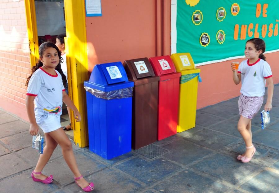 Ministério do Meio Ambiente faz parceria com escolas públicas