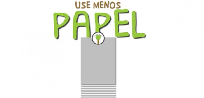 Como nos tornarmos menos dependentes do papel?