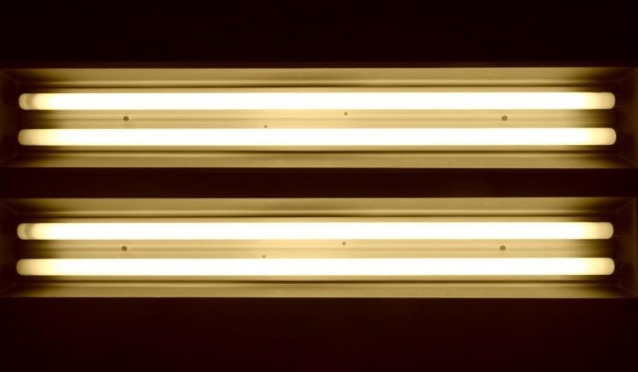 Solução criativa para as lâmpadas fluorescentes