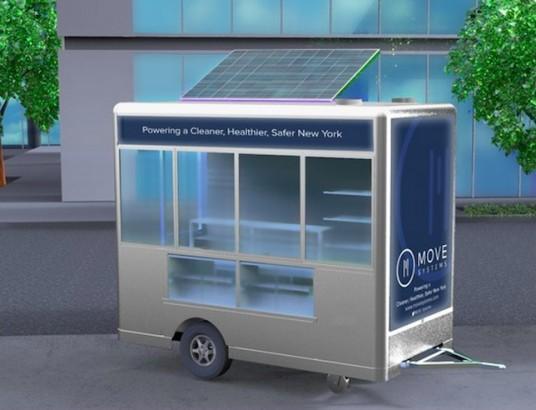 Nova York terá carrinhos de comida movidos a energia solar