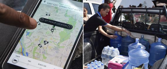 UberÁGUA: Uber de Belo Horizonte levará água doada às vítimas de Governador Valadares quando for acionado