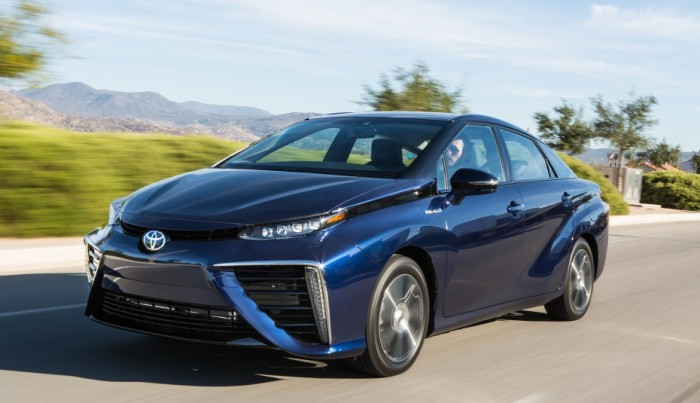 Uma volta ao volante do Toyota Mirai