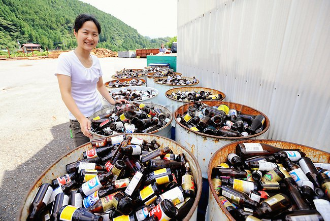 A ilha no Japão que recicla e reutiliza 80% dos resíduos que produz