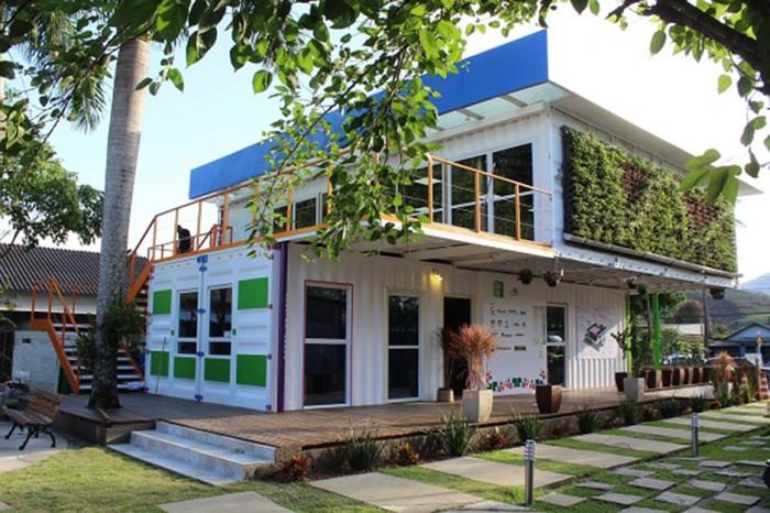 ONG Onda Verde e sua construção em container