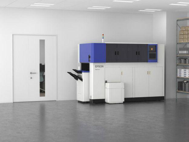 Nova máquina de reciclagem da Epson transforma papel usado em novo