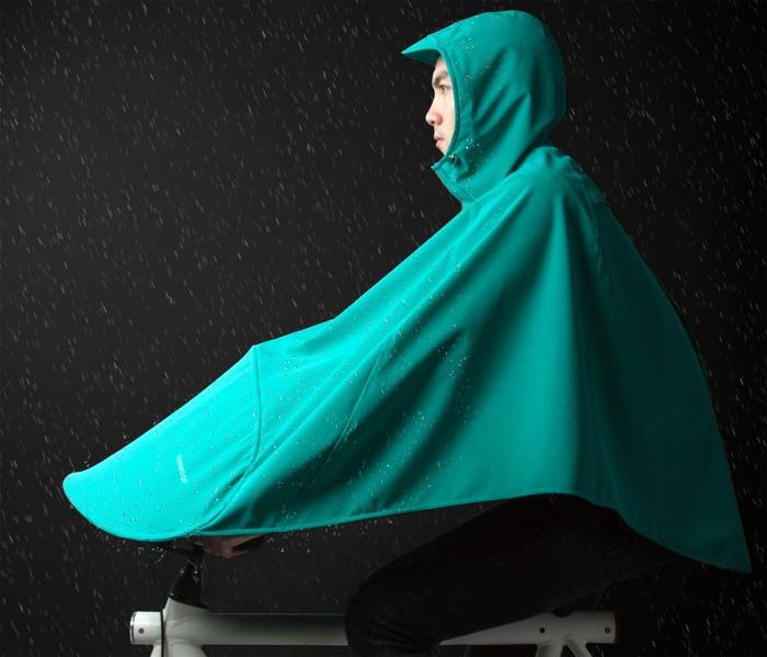 Empresa holandesa projeta capa de chuva ciclística para corpo inteiro