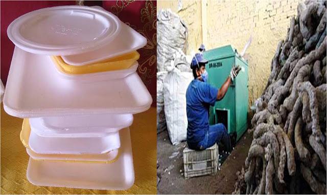 Isopor, um vilão para o meio ambiente, pode ser reciclado,sim!