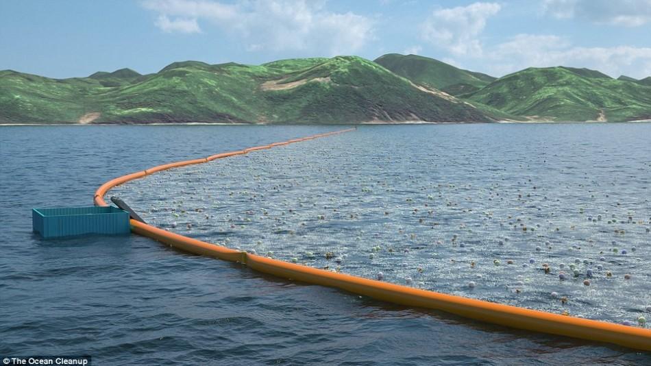Projeto do jovem de 19 anos para limpeza do oceano finalmente será testado em águas abertas