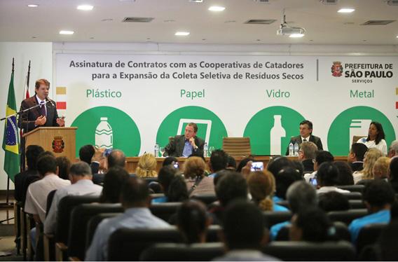 Coleta seletiva chegará a todos os distritos de São Paulo