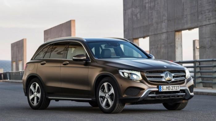 Mercedes GLC movido a hidrogênio estreia em 2017