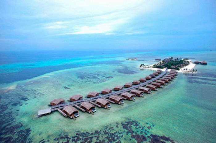 Resort nas Maldivas é o primeiro do mundo a funcionar com energia solar