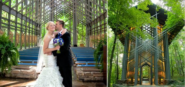 Esta capela sustentável realiza casamentos em meio à natureza