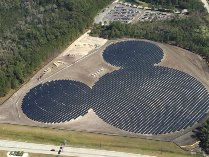 Mickey Mouse-shaped solar farm powers Walt Disney World in Florida