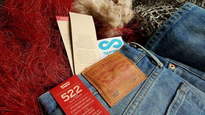 Levi lança nova coleção masculina de jeans feita de redes de pesca velhas