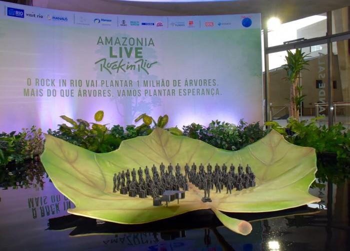 Rock in Rio anuncia projeto de recuperação ambiental e concerto na Amazonia
