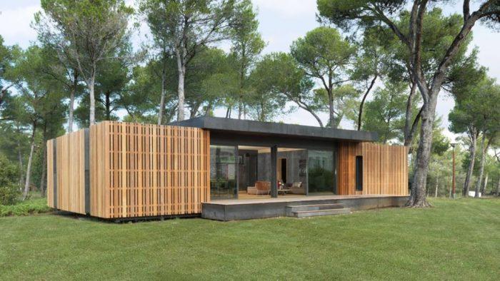 PopUp House é uma casa pré-fabricada reciclável que você monta com uma chave de fenda