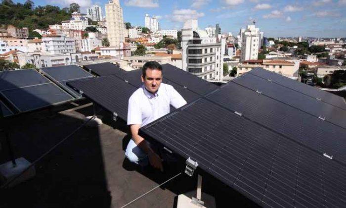 Minas se destaca na geração de energia solar