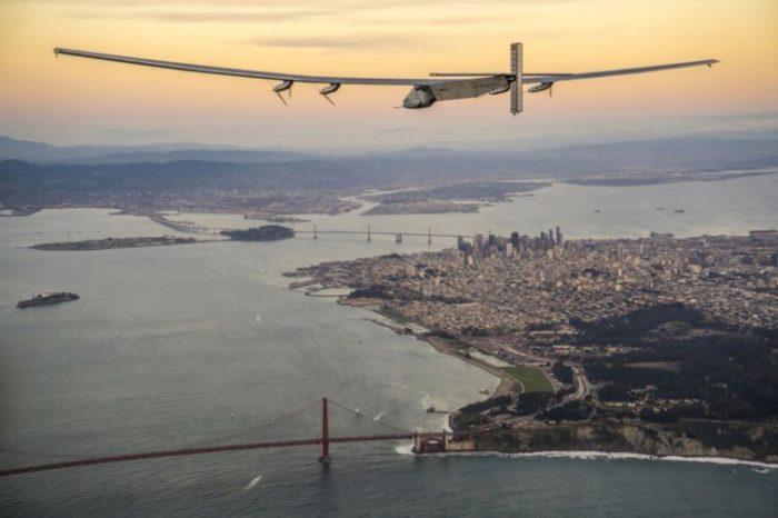 O avião Solar Impulse cruzou o Pacífico