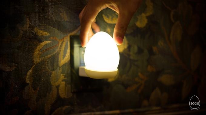 Conheça a Eggie, uma lâmpada sustentável em forma de ovo