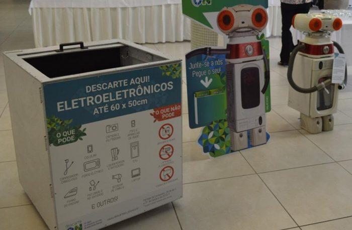 Começa coleta de eletroeletrônicos em São Paulo