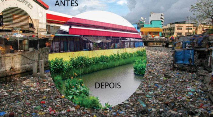 Ilhas Artificiais Purificam Água de Rios e Córregos Urbanos