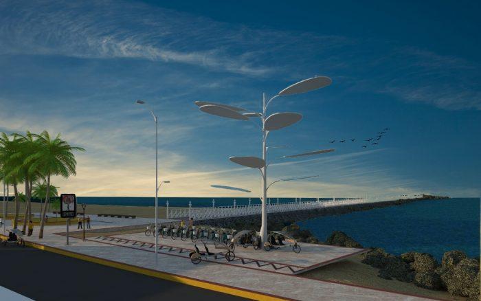 Árvore Solar para alimentar bicicletas elétricas será inaugurada na UECE – Universidade Estadual do Ceará