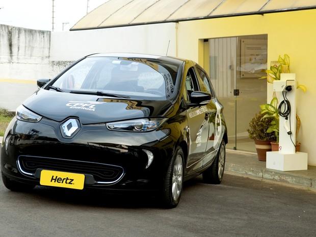 Campinas será primeira cidade no Brasil a ter aluguel de carros elétricos