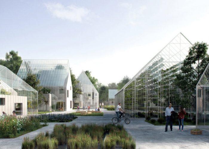 Estúdio dinamarquês projeta vila que produz a própria comida e energia