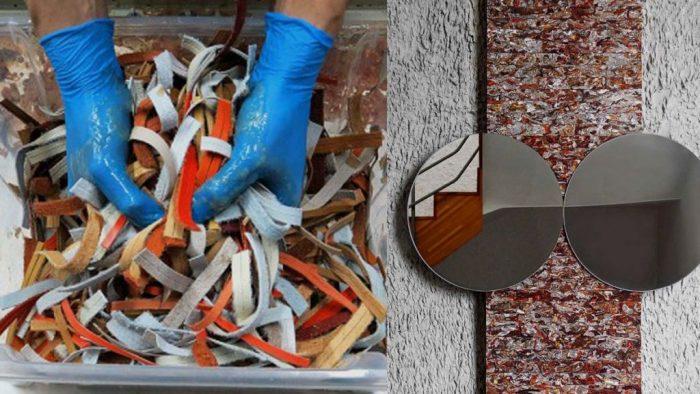 Structural Skin – Novo material feito de resíduos de couro descartado