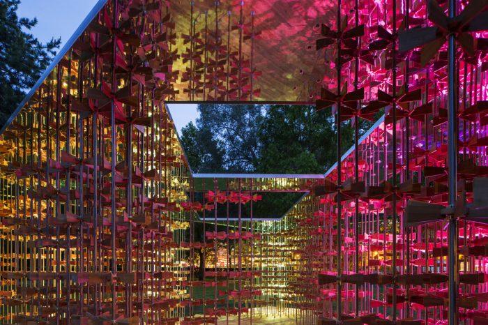 """Energy Pavilion aborda a """"energia coletiva da comunidade"""" no Museum Gardens"""