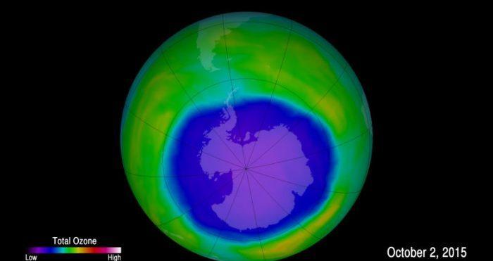 A camada de ozônio finalmente está se recuperando