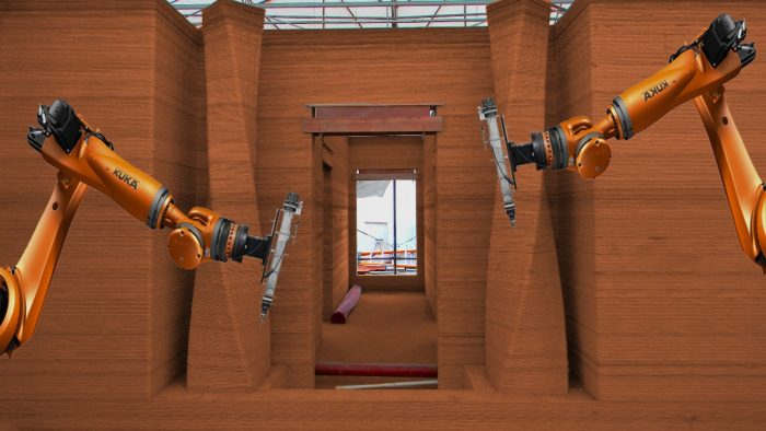 Casas populares feitas de terra com impressora 3D custarão US $ 1000