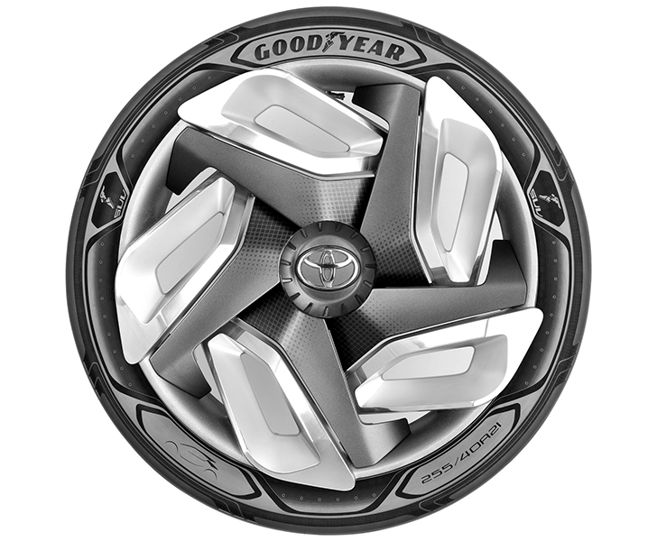 Goodyear's energy-generating tire could charge your electric car