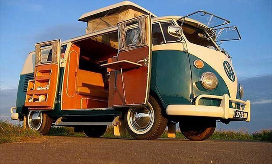 Volkswagen vai relançar a clássica van hippie numa versão eléctrica