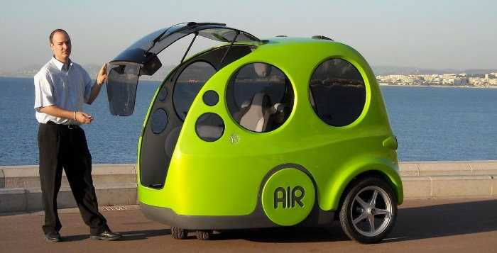 Airpod: o carro movido a ar
