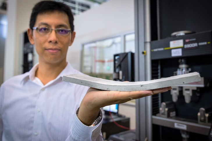 Cientistas anunciam concreto flexível mais resistente e durável