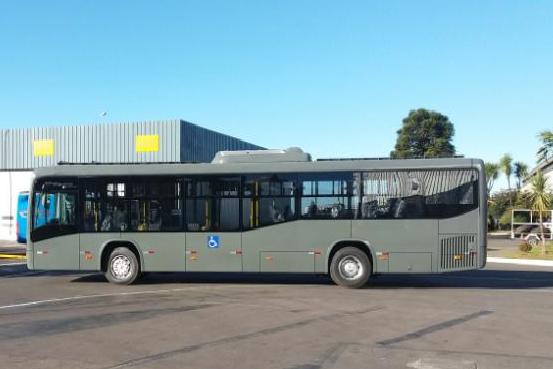Primeiro ônibus elétrico movido a energia solar do Brasil entrará em operação