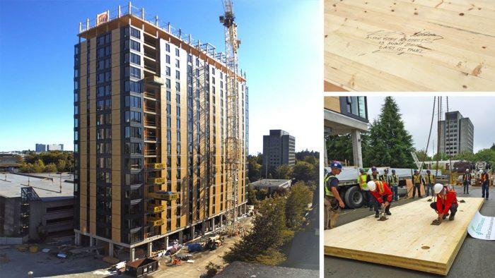 Brock Commons – O edifício residencial de madeira mais alto do mundo