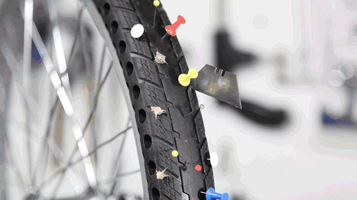 Este pneu ecológico pode evitar que bilhões de pneus poluem os aterros sanitários