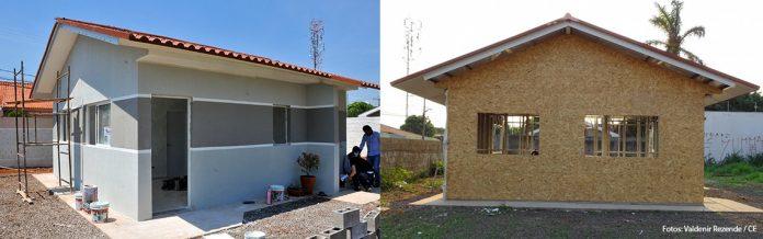 Casa sustentável construída em Campo Grande é 25% mais barata, resistente ao fogo e fica pronta em 6 dias