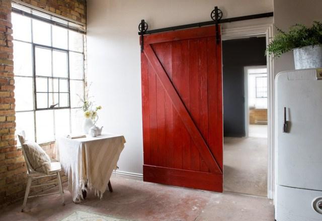 Fabuloso Como fazer uma porta rústica com pallets reaproveitadosVivagreen UW32